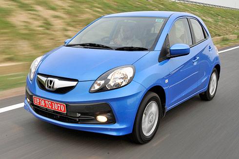 Honda brio review and test drive autocar india for Honda brio price in india