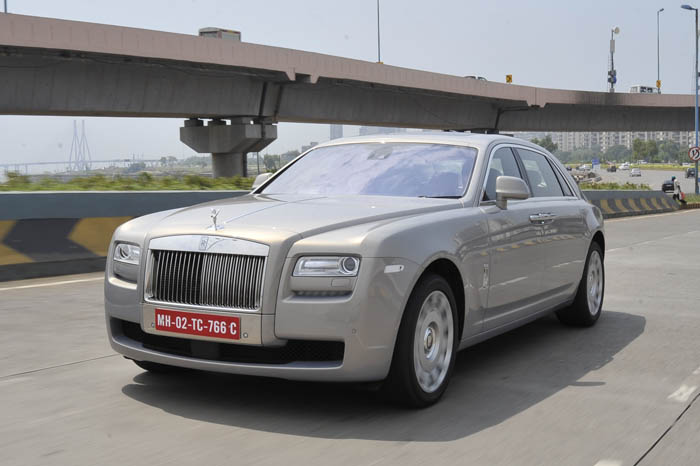 Rolls Royce Ghost EWB review - Autocar India