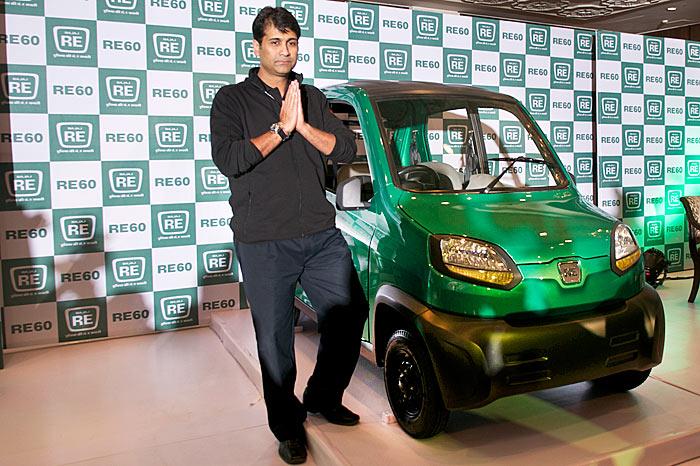 Bajaj S Re60 Four Wheeler Revealed Autocar India