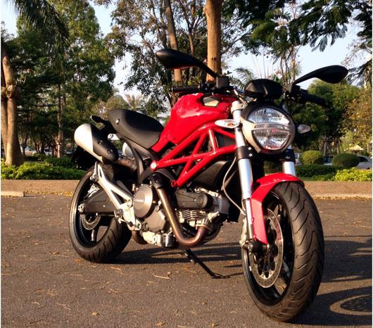Ducati's M... Ducati Monster In India