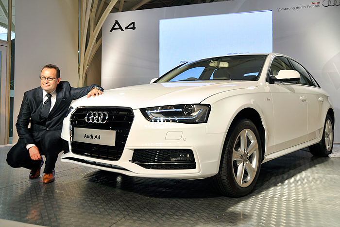 updated audi a4 launched autocar india. Black Bedroom Furniture Sets. Home Design Ideas