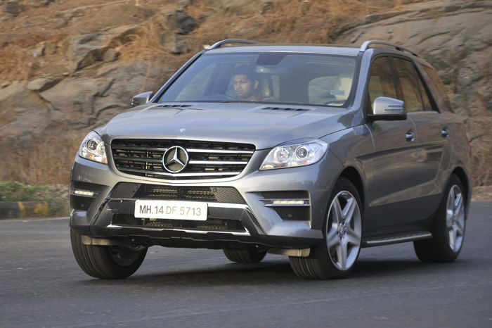 New mercedes ml 350 cdi review test drive autocar india for Mercedes benz ml class 350 cdi price in india