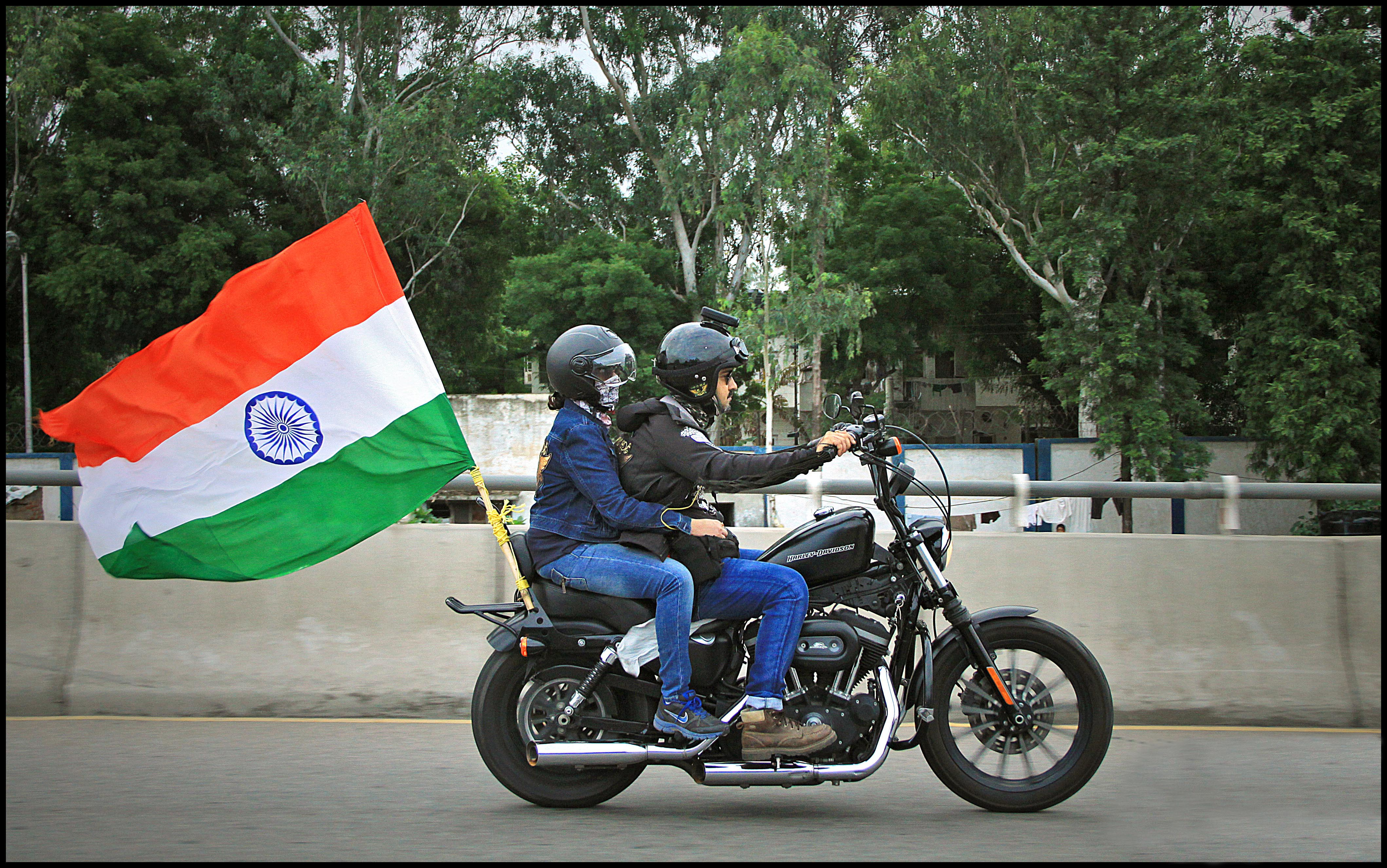 harley riders celebrate independence day autocar india
