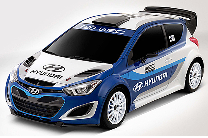 New Hyundai I20 Wrc Car Revealed Autocar India