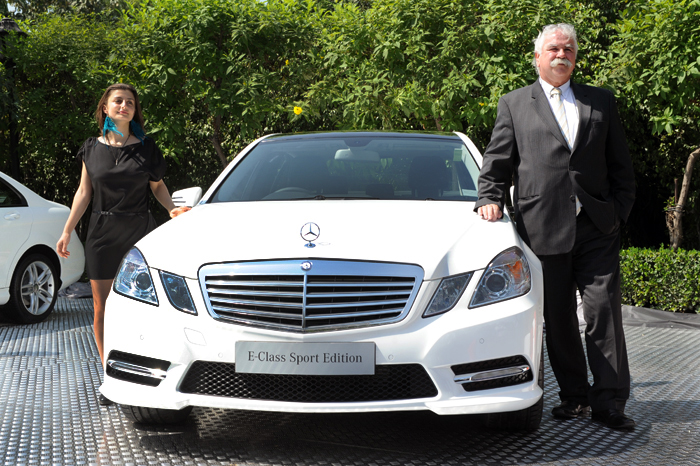 C and e class sport edition launched autocar india for Mercedes benz c class price in india