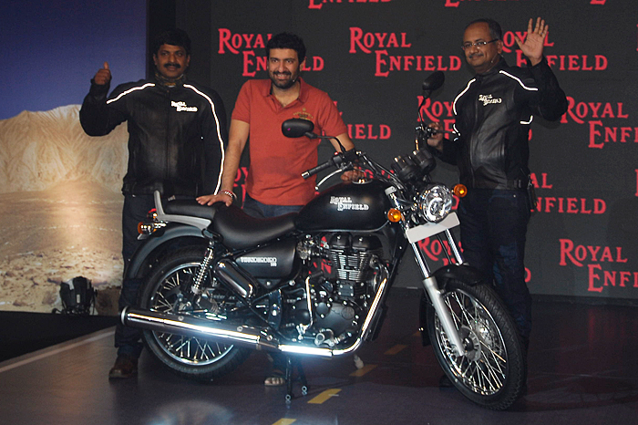 royal enfield launches thunderbird 500 autocar india