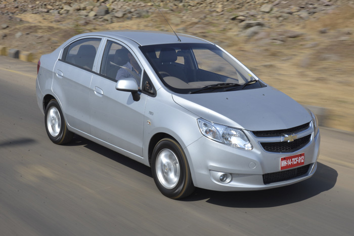 Car With Sail : Chevrolet sail review test drive and video autocar india