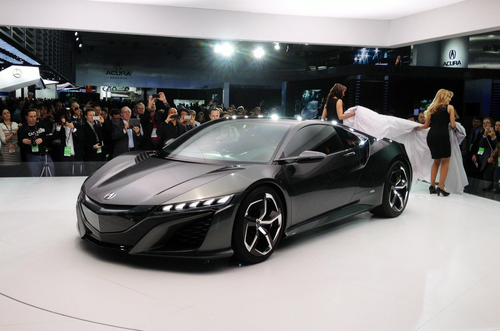 New Honda NSX concept revealed - Autocar India