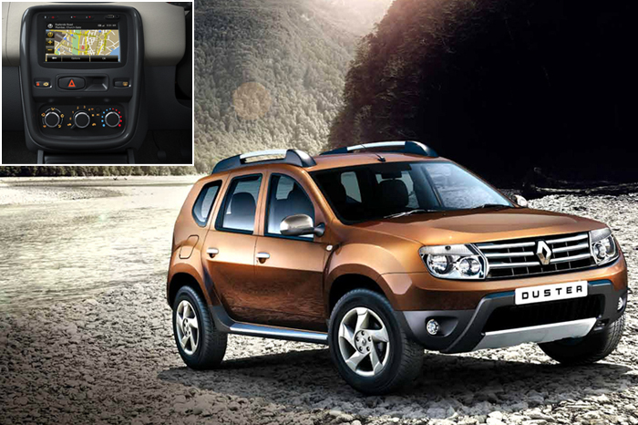 renault duster gets sat nav system autocar india. Black Bedroom Furniture Sets. Home Design Ideas