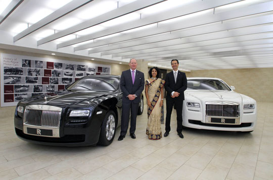 Rolls Royce Opens Third Showroom In India Autocar India