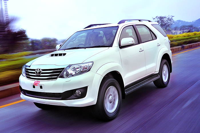toyota fortuner 5-speed auto review  test drive