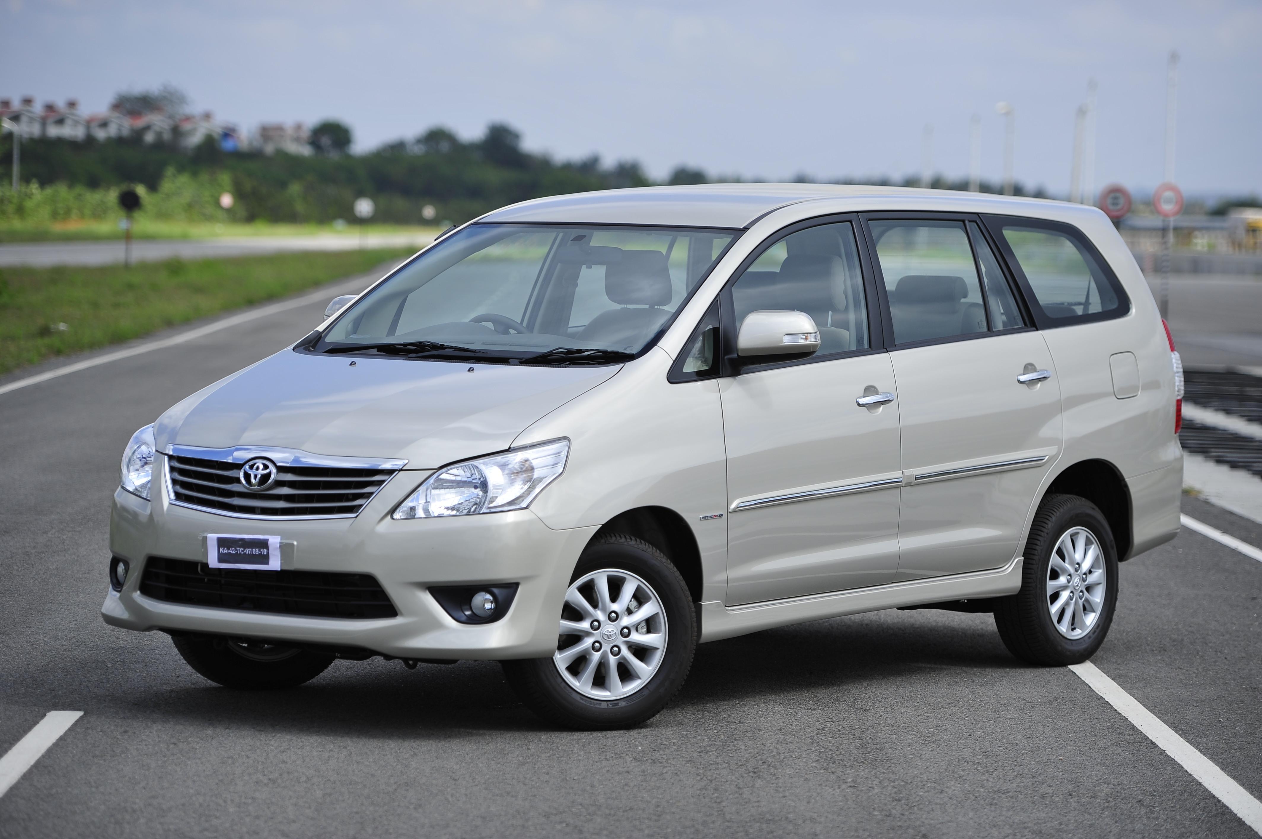 Toyota Innova Chrome Edition Launched Autocar India
