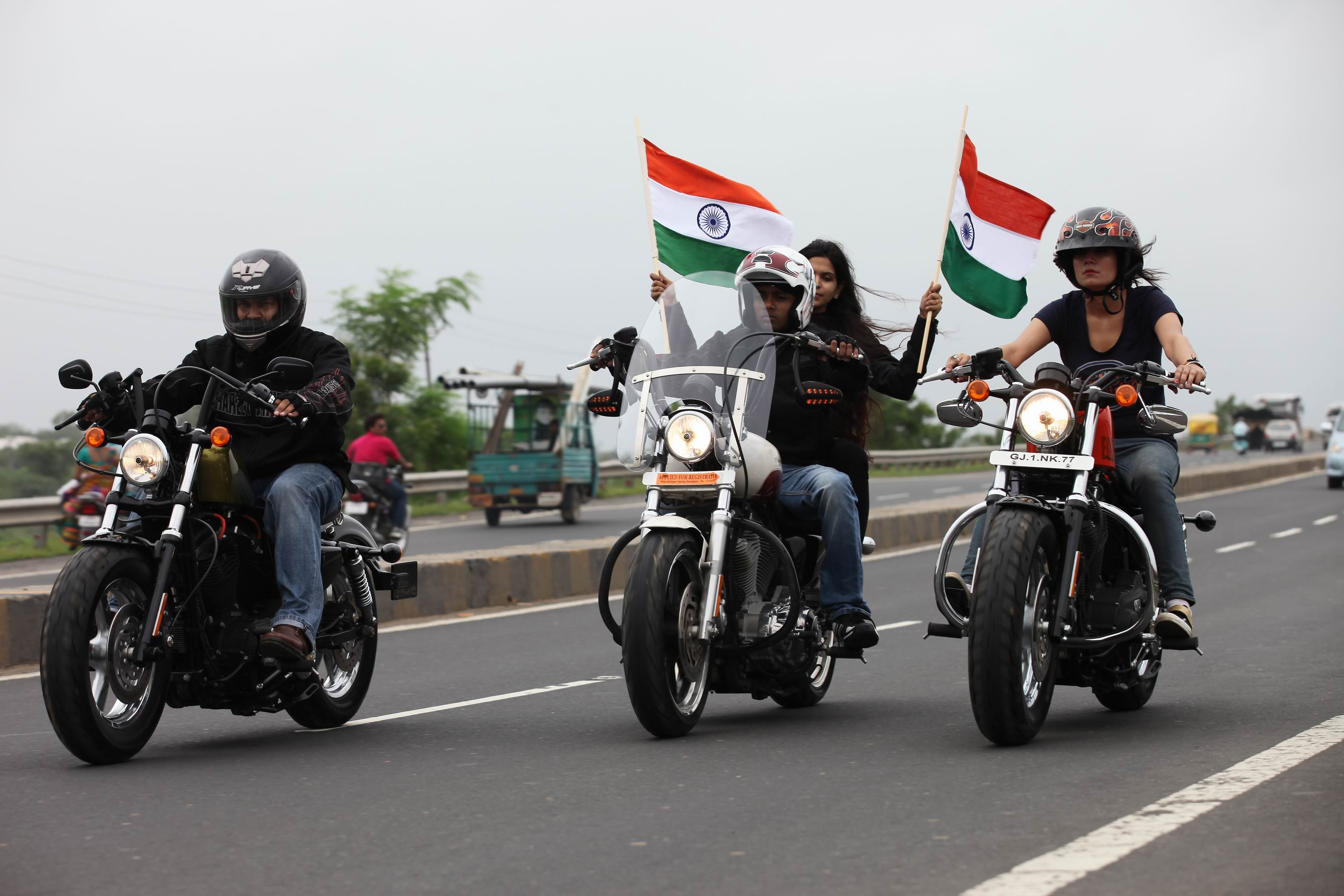 Harley's Independence Day Freedom Ride - Autocar India