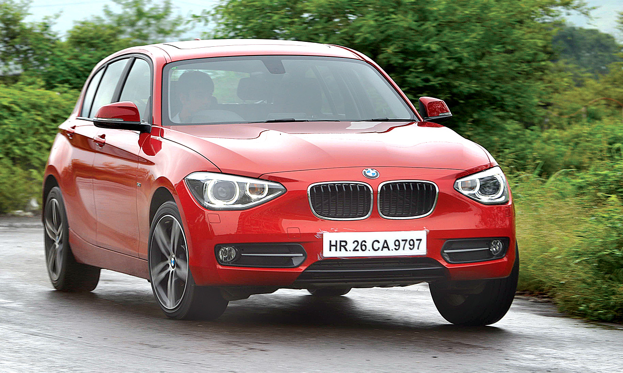 new bmw 1 series review test drive autocar india. Black Bedroom Furniture Sets. Home Design Ideas