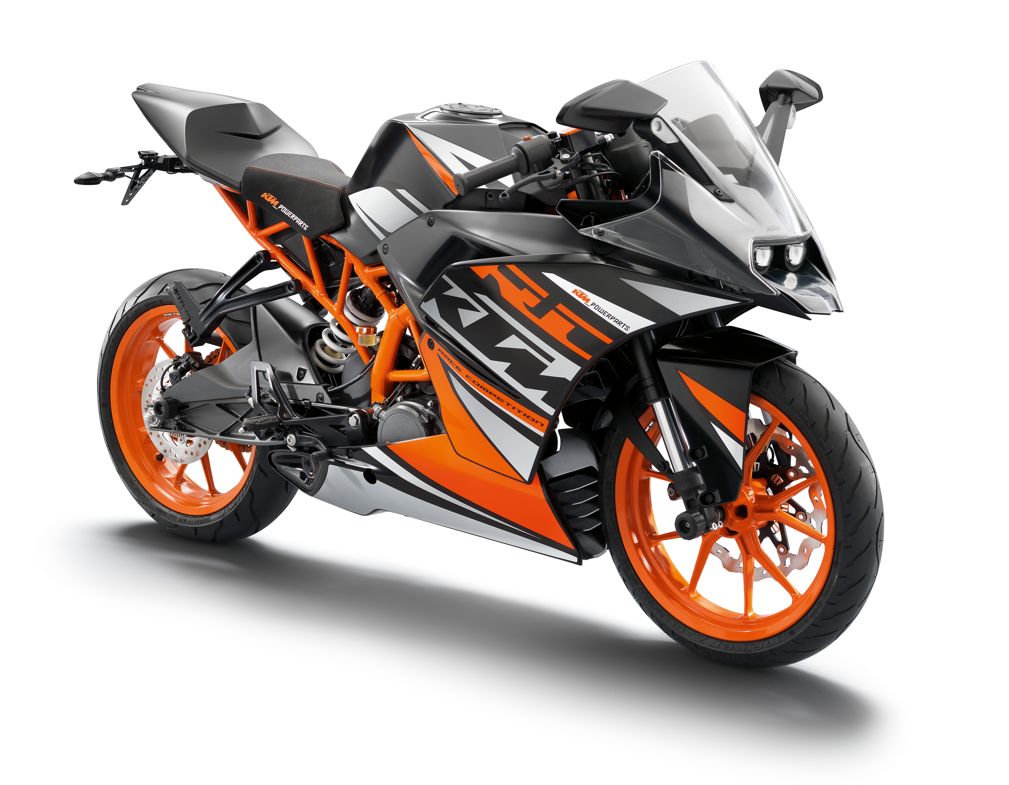 Ktm New 2016 Bike Wallpapers: KTM RC390, RC200 And RC125 Unveiled