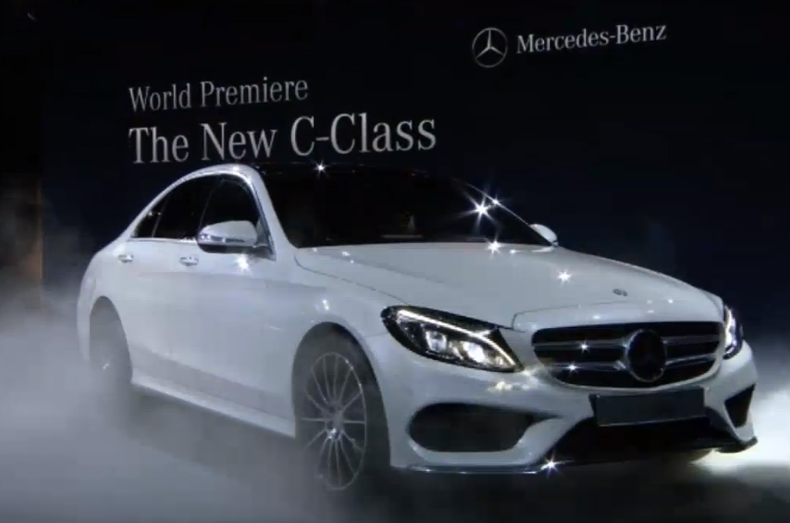 New Mercedes C Class Revealed At Detroit Motor Show 2014 Autocar India