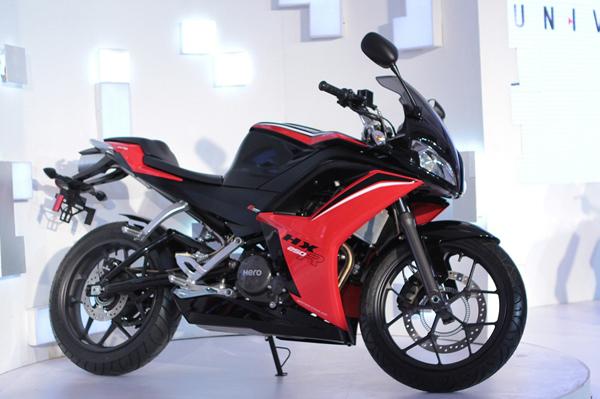 hero motocorp unveils five new models before auto expo