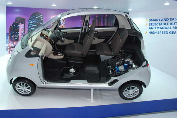 Auto Expo 2014 New Tata Nano Automatic Showcased Autocar India