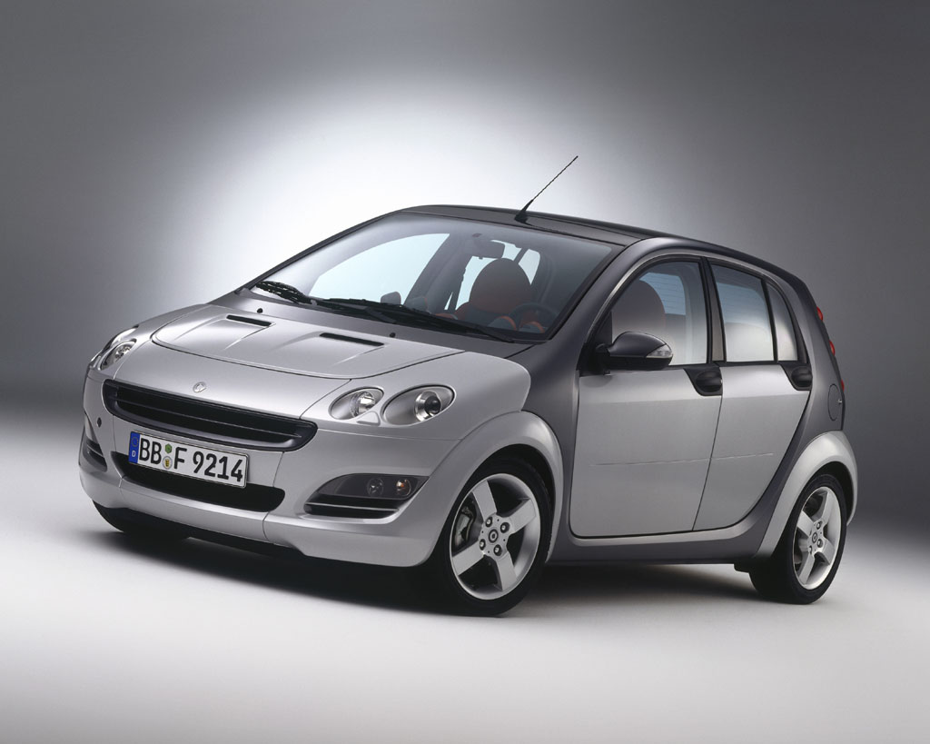 paris 2014 new smart forfour to be unveiled autocar india. Black Bedroom Furniture Sets. Home Design Ideas