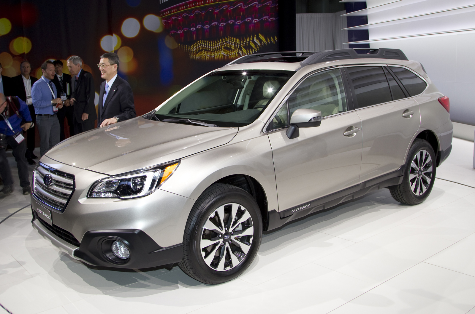 new york 2014 new subaru outback to be shown autocar india. Black Bedroom Furniture Sets. Home Design Ideas