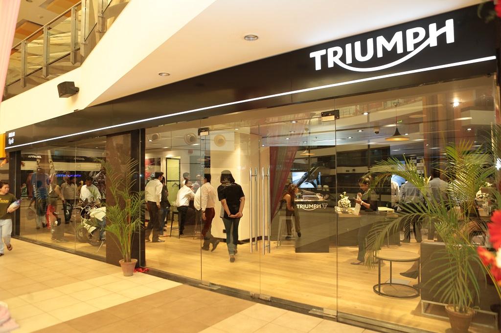 Fuel Efficient Used Cars >> Triumph Motorcycles inaugurates Delhi showroom - Autocar India