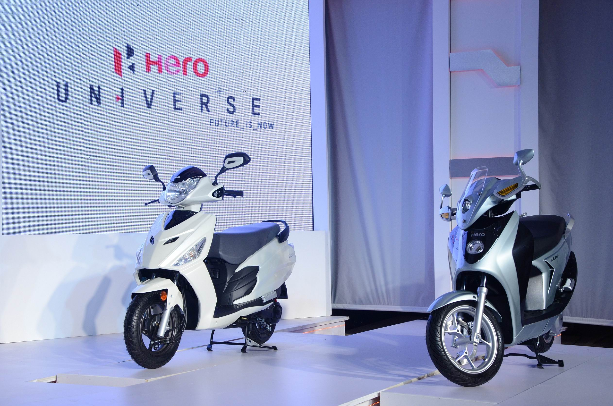 Hero Leap Hybrid Scooter Coming In 2015 Autocar India