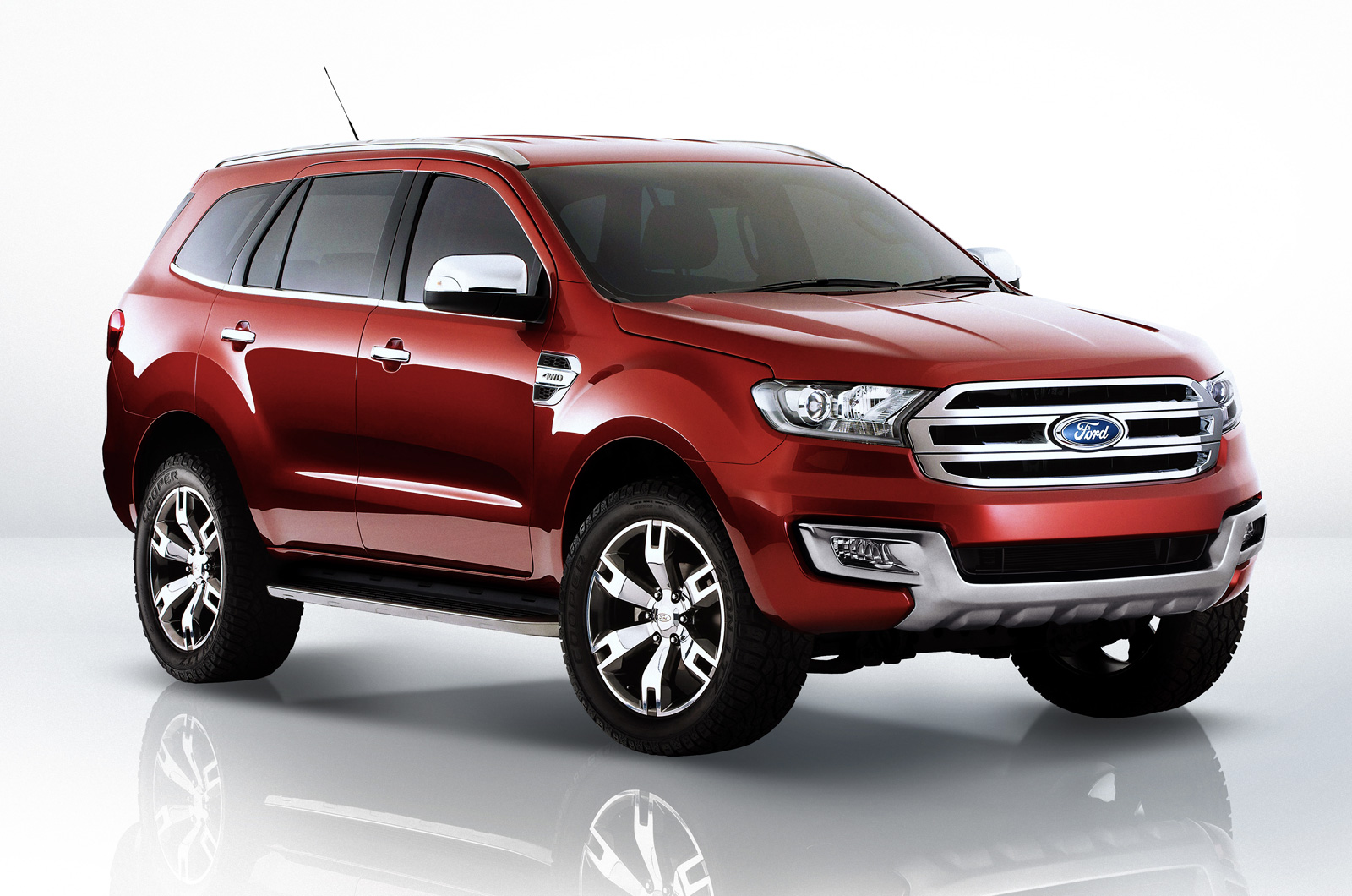 New Ford Endeavour in India in 2015 - Autocar India
