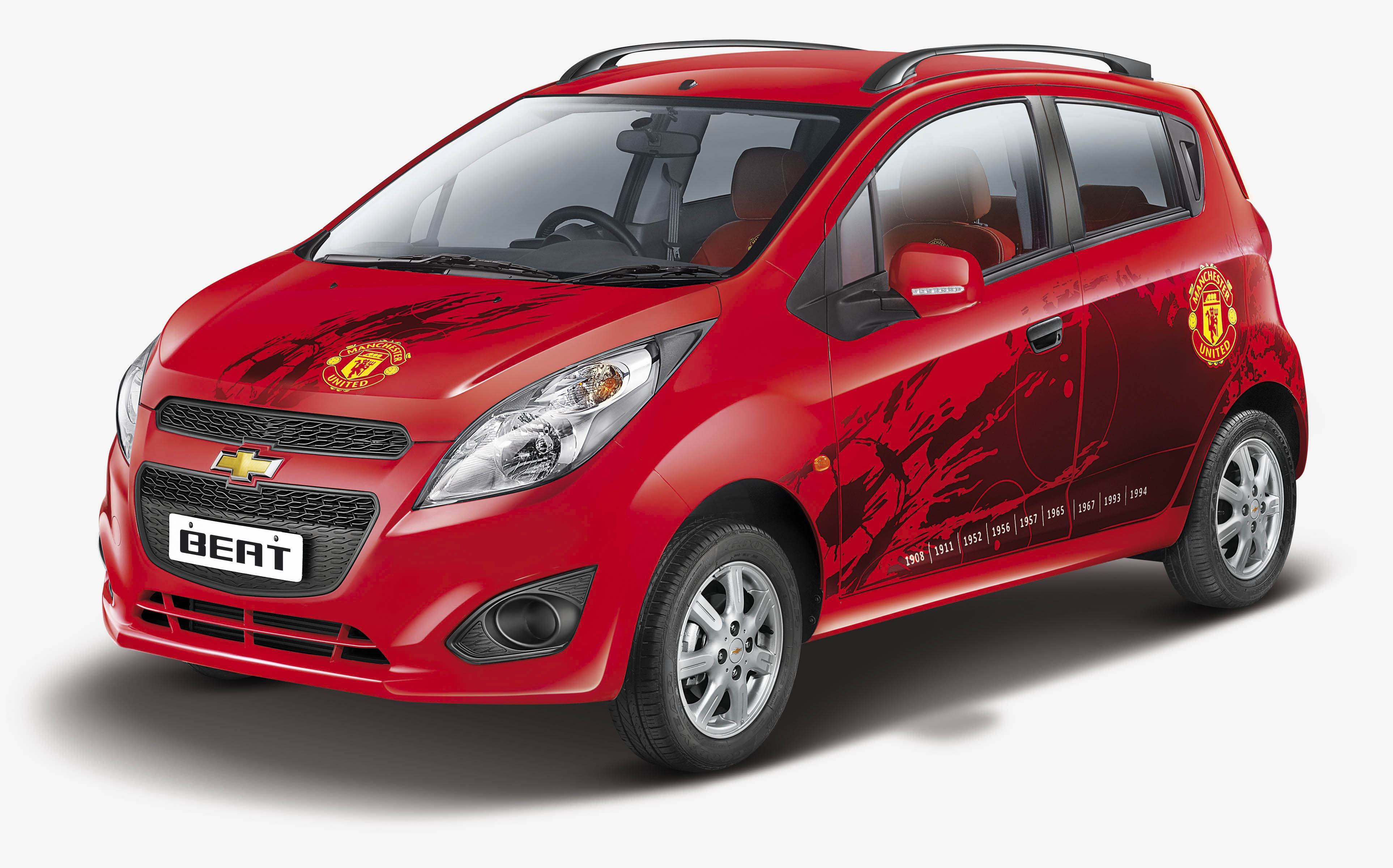Chevrolet Beat Sail Manchester United edition launched  Autocar