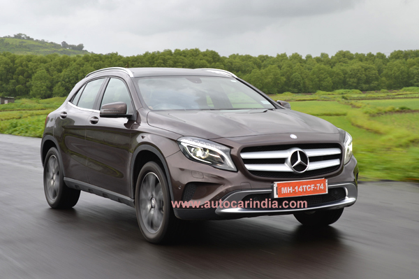Mercedes benz gla 200 india review test drive autocar india for Mercedes benz gla india