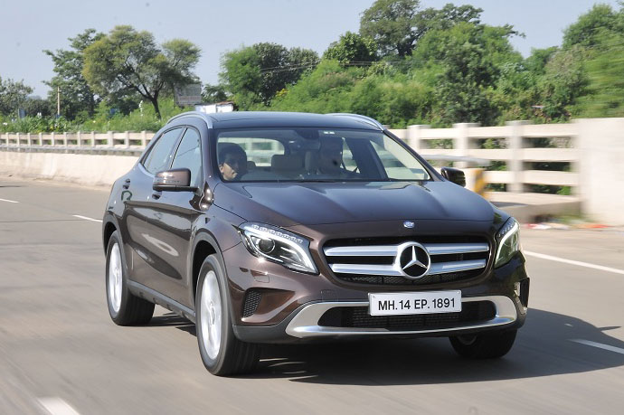 Mercedes benz gla 200 cdi india review test drive for Mercedes benz gla india