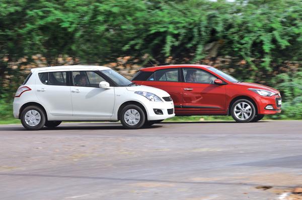New Hyundai Elite I20 Diesel Vs Maruti Swift Diesel