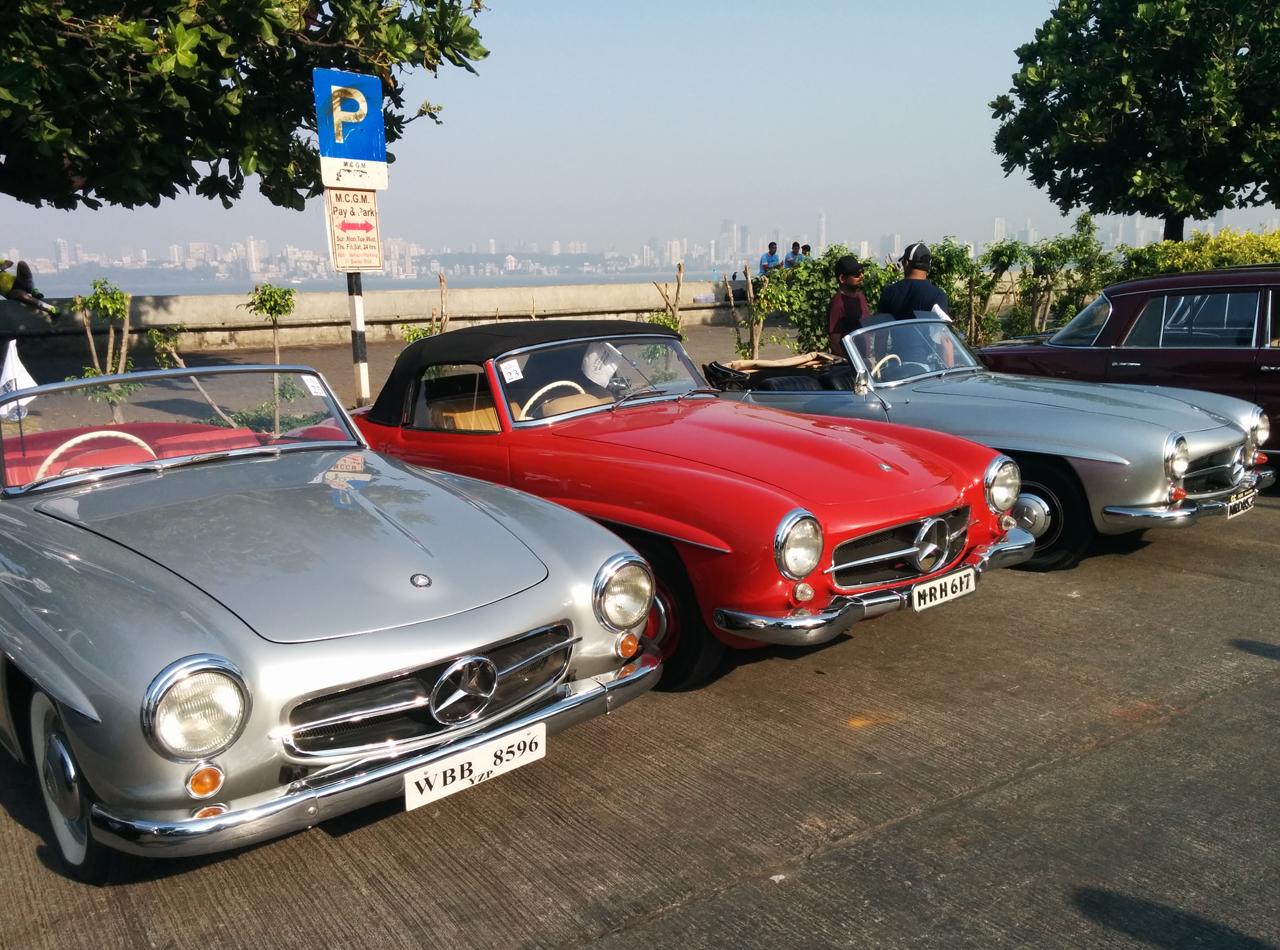Classic Mercs Wow Mumbai Autocar India