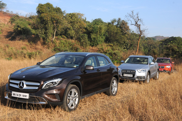 Mercedes benz gla 200 cdi v audi q3 35 tdi v bmw x1 for Mercedes benz gla india