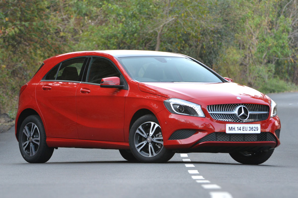 2015 mercedes benz a 200 cdi review test drive autocar for Mercedes benz prices in india