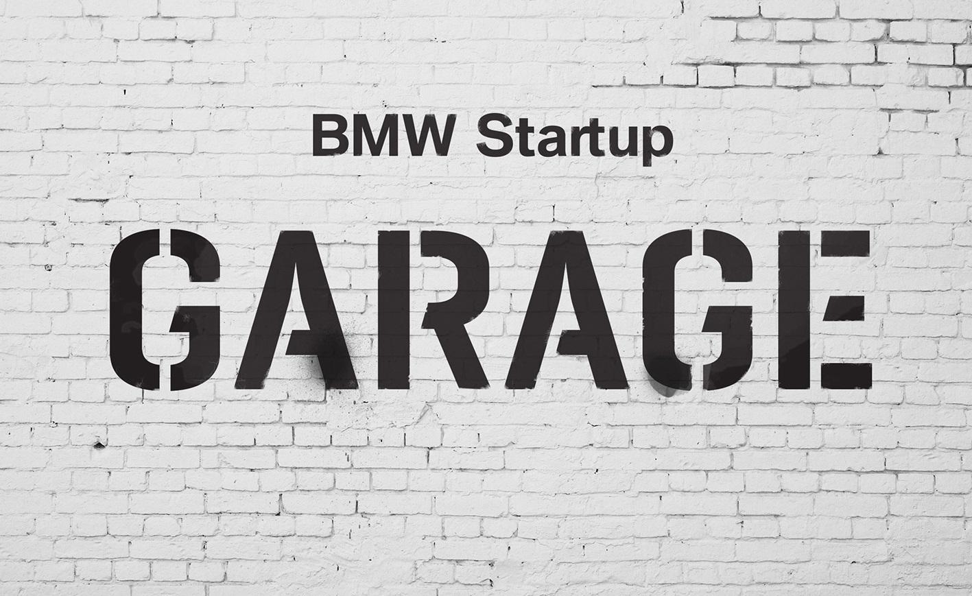 bmw launches start-up garage