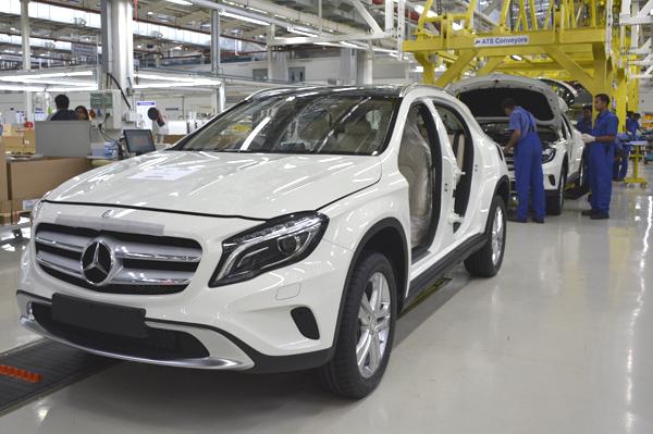 Mercedes benz ups manufacturing footprint in india for Mercedes benz manufacturing