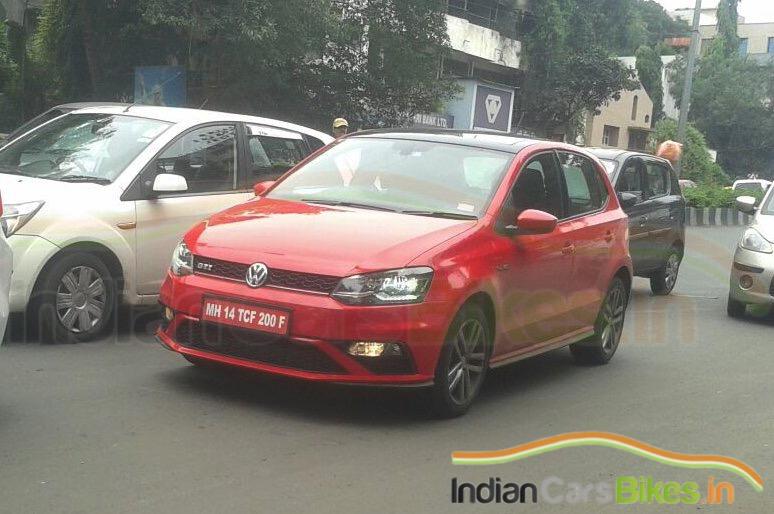 vw india  track  polo gti launch autocar india