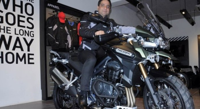 Triumph Inaugurates First Showroom In Jaipur Autocar India