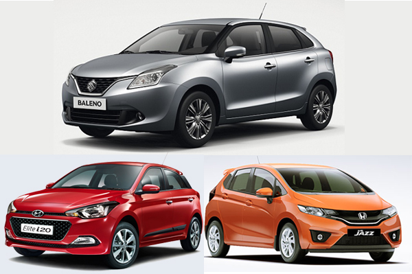 Maruti Baleno Vs I20 Vs Jazz Specifications Comparison