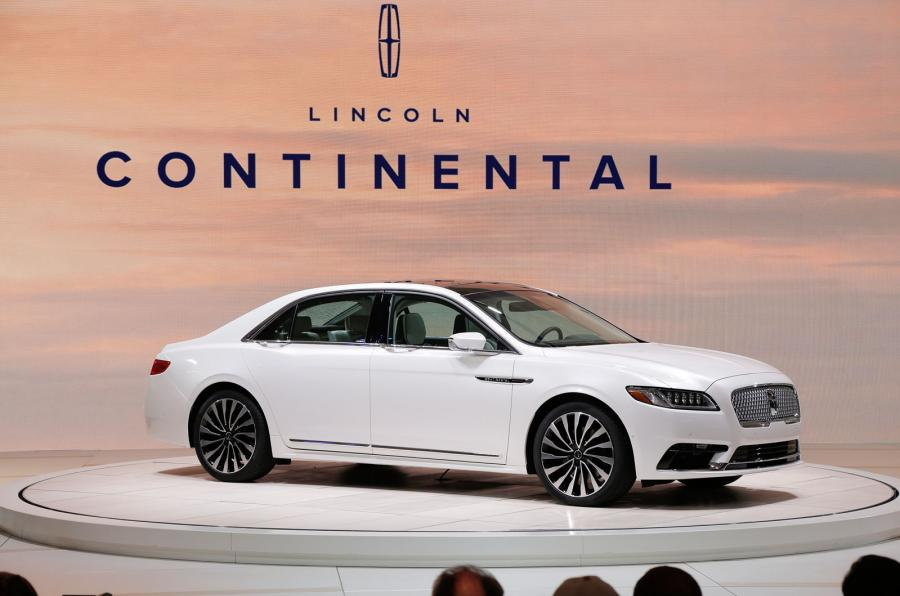 Lincoln Continental Unveiled At Detroit Motor Show Autocar India
