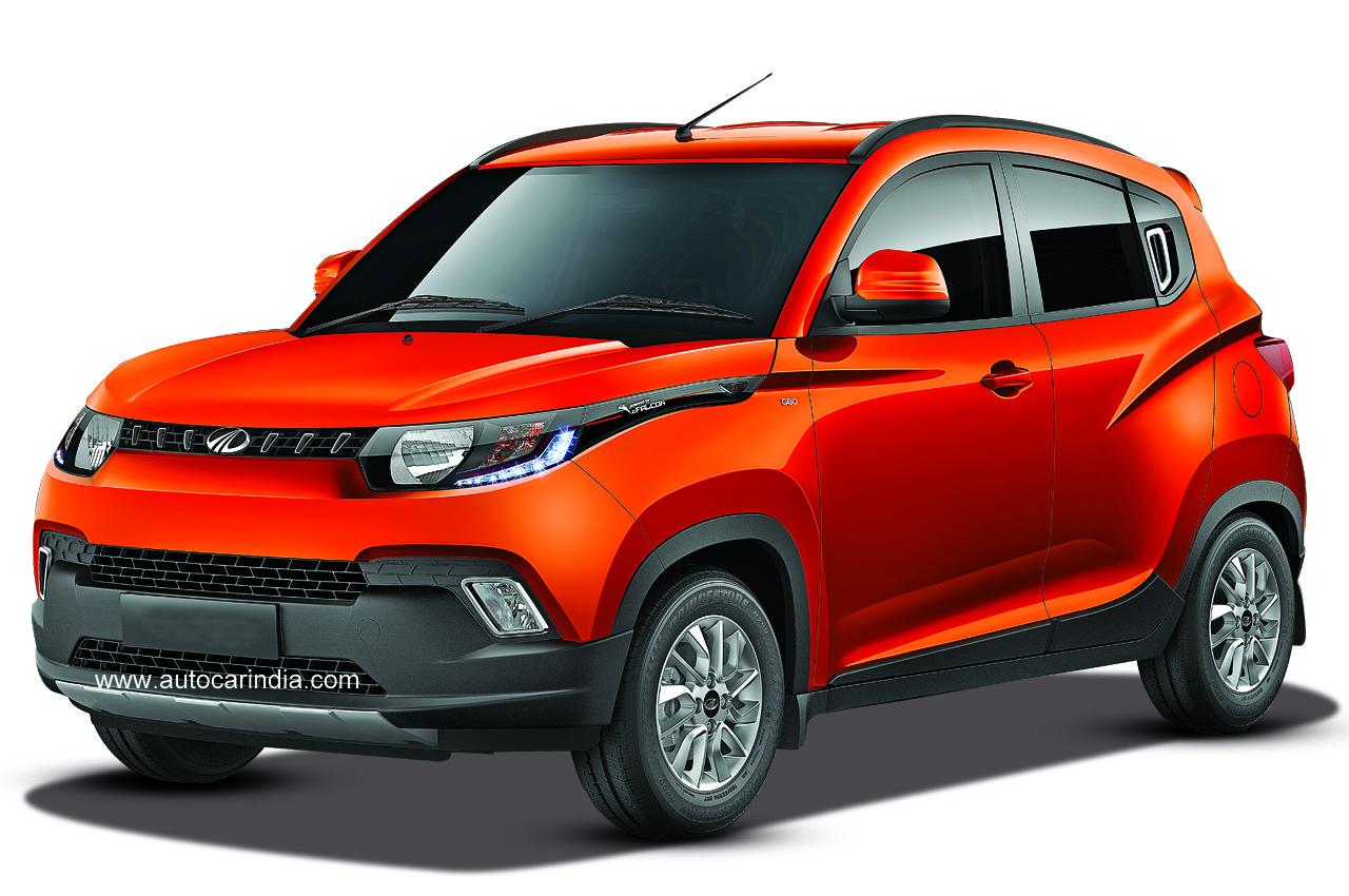 Toyota Suv Names >> Mahindra KUV100: First look - Autocar India