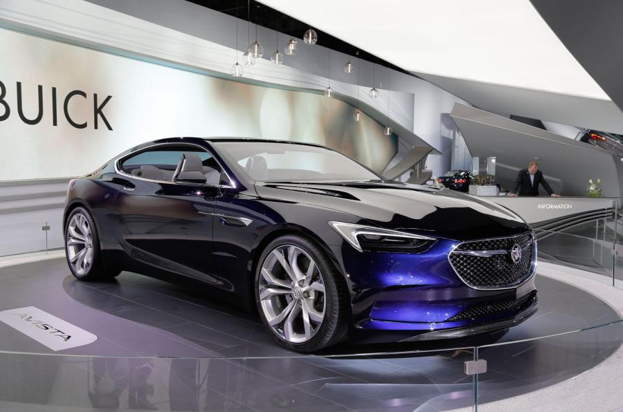 Buick Avista Concept Unveiled At Detroit Motor Show 2016