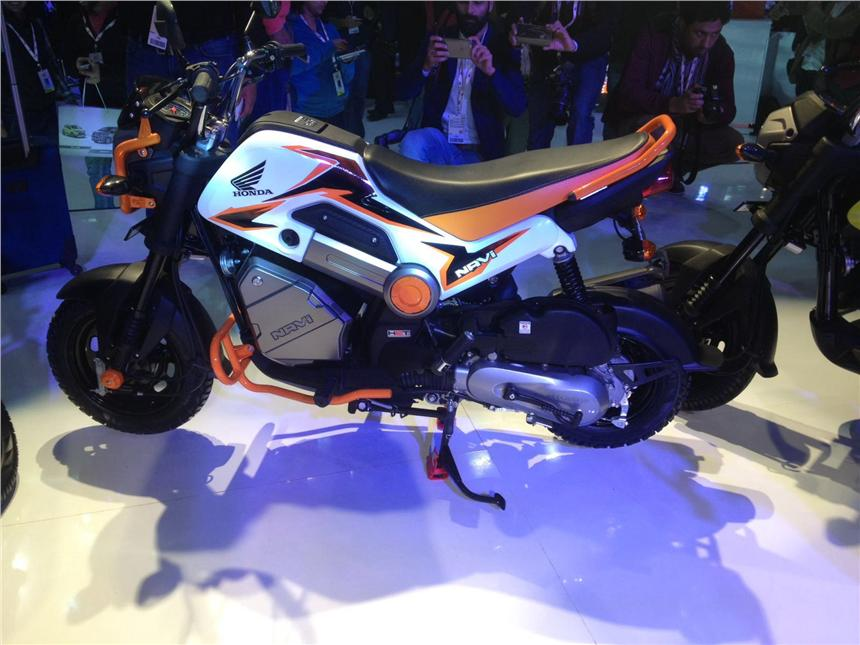 Honda Navi Launched At Auto Expo 2016 Autocar India