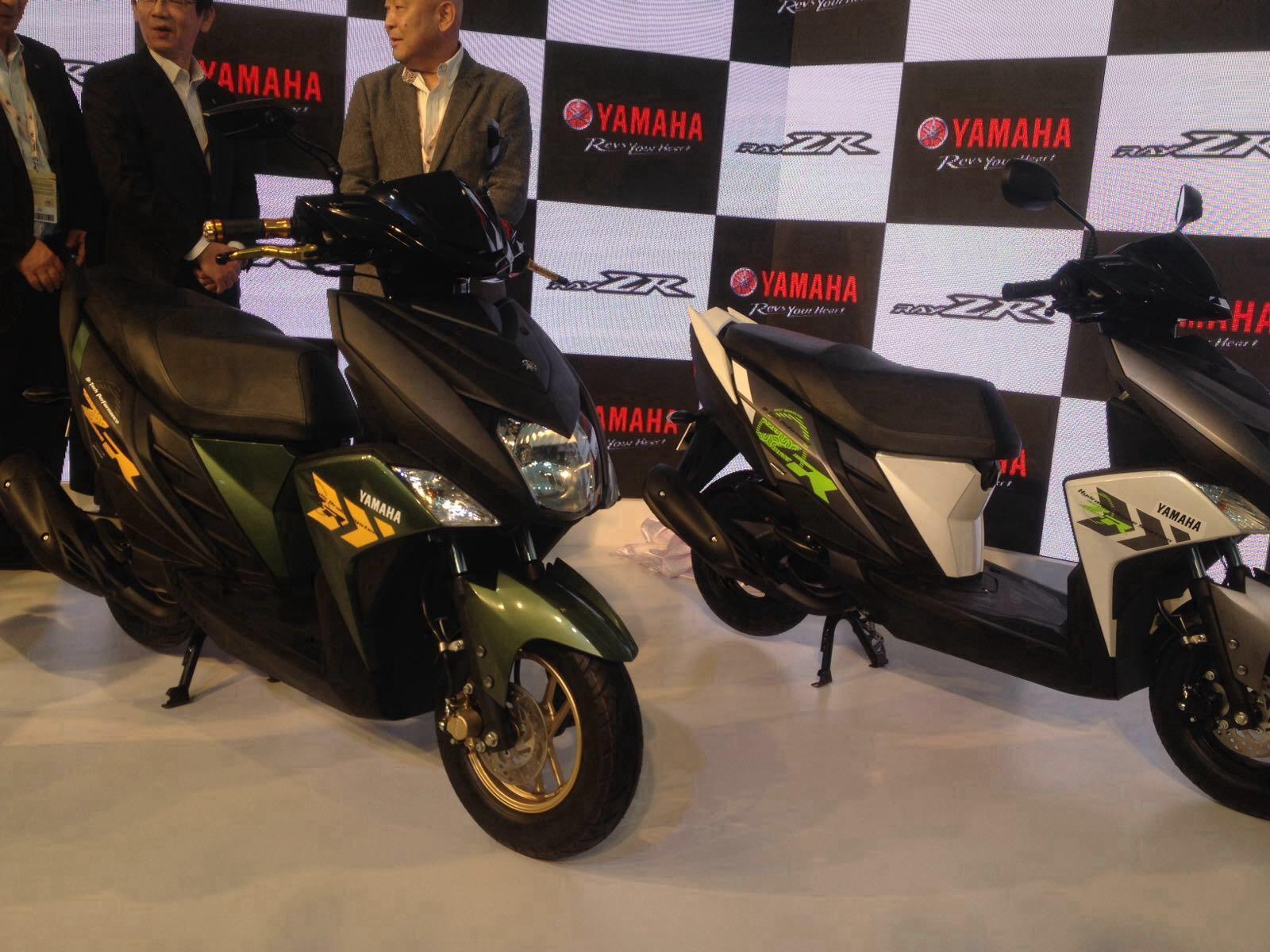 Yamaha Cygnus Ray Zr Unveiled At Auto Expo 2016 Autocar