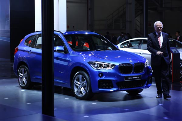 BMW X1 launched in India at Auto Expo 2016