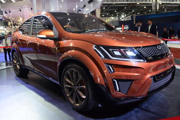 Mahindra Xuv Aero Concept Revealed At Auto Expo 2016