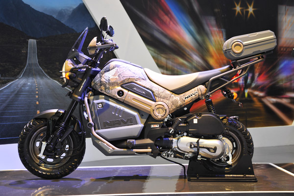 Honda Navi With Accessories Showcased At Auto Expo 2016