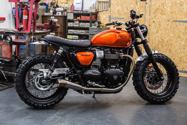 Custom Triumph Bonneville Street Twin Unveiled In Paris