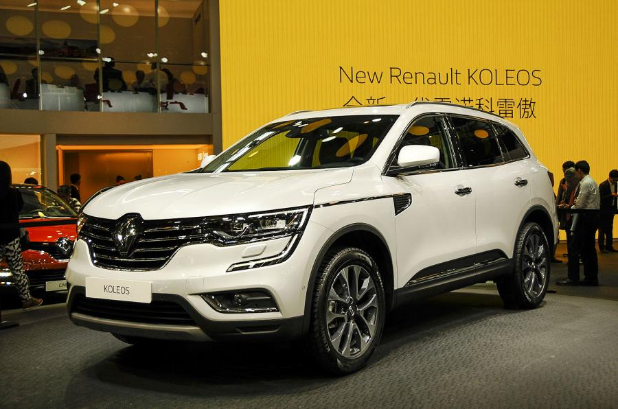 Renault suv 2017