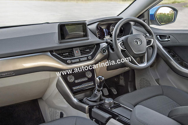 The interior, with its focus on practicality, is not as dramatic as the exterior.